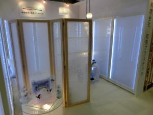インテリアライフスタイル2014ジャパンスタイルパーティーション家具